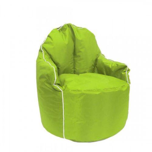 Green Petal Bean Bag Arm Chair