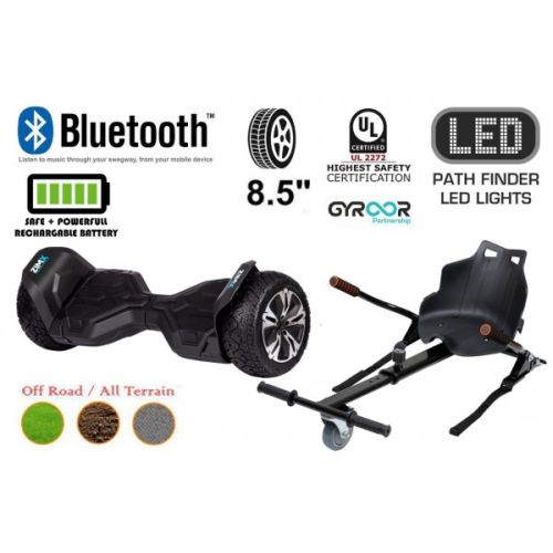 Black G2 Pro Off Road Hoverboard Swegway Segway UL2272 Certified + HK4 Black