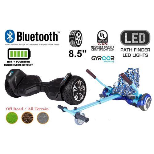 Black G2 Pro Off Road Hoverboard Swegway Segway UL2272 Certified + HK4 Camo Blue