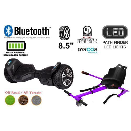 Black G2 Pro Off Road Hoverboard Swegway Segway UL2272 Certified + HK4 Purple