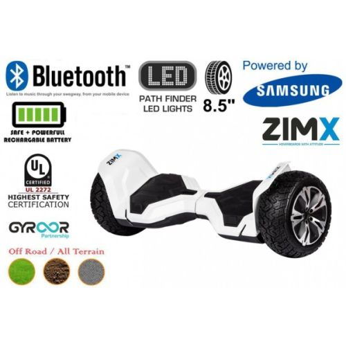 White G2 Pro Off Road Hoverboard Swegway Segway UL2272 Certified