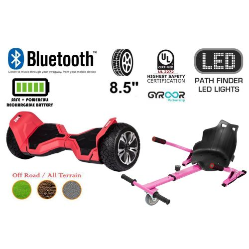 Red G2 Pro Off Road Hoverboard Swegway Segway UL2272 Certified + HK4 Pink