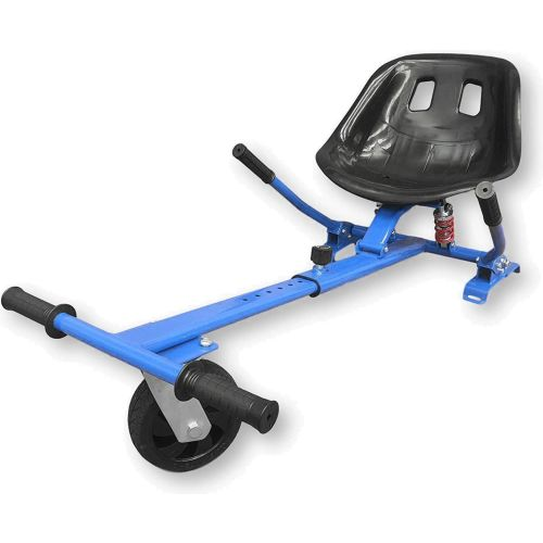 Blue HoverKart HK5 - With Suspension and Off-Road Front Wheel Steer