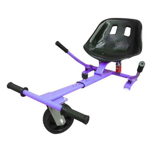 Purple HoverKart HK5 - With Suspension and Off-Road Front Wheel Steer