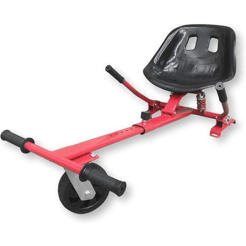 Red HoverKart HK5 - With Suspension and Off-Road Front Wheel Steer