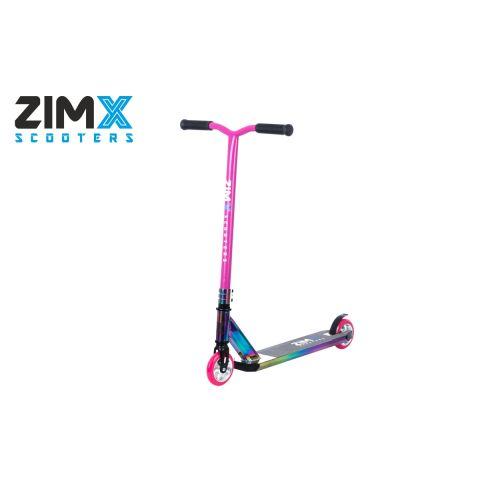 ZIMX NEO MAX Stunt Scooter - Neo Pink