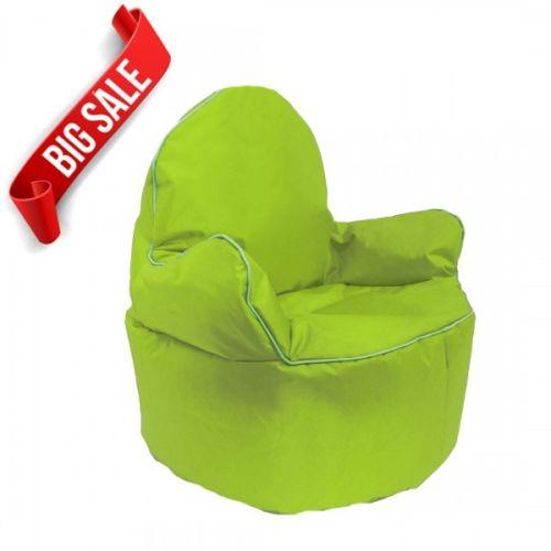 Green Kids King Bean Bag Chair