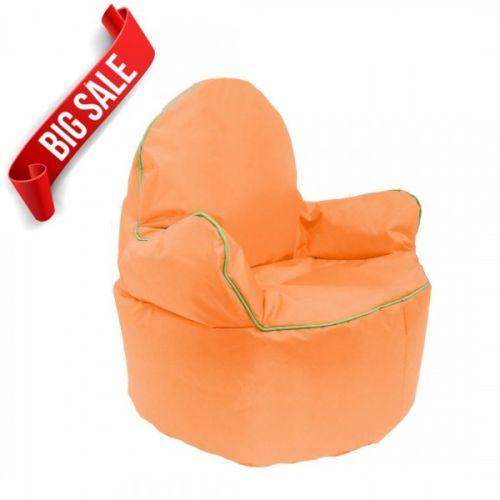 Orange Kids King Bean Bag Chair