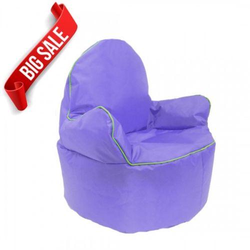 Purple Kids King Bean Bag Chair
