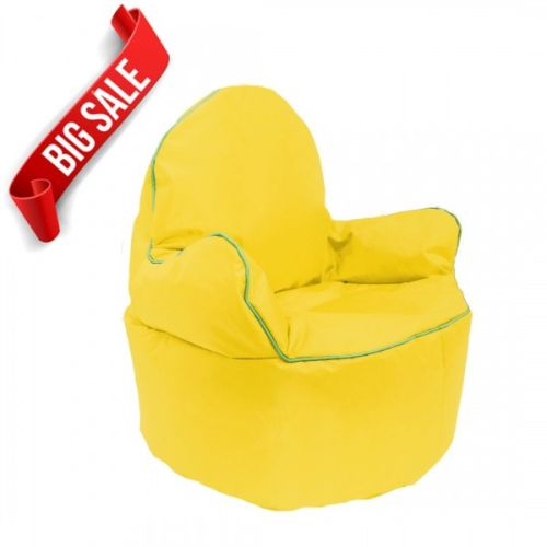 Yellow Kids King Bean Bag Chair