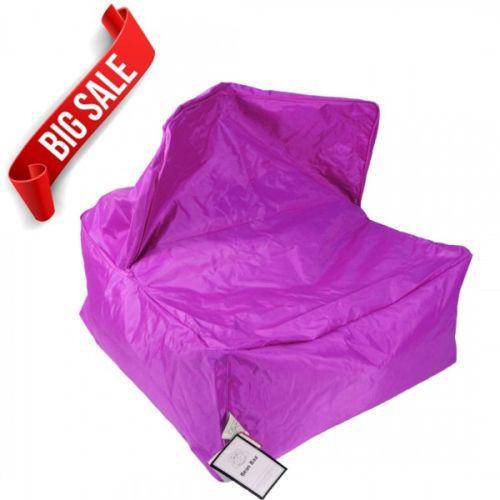 Purple Transforming Bean Bag Chair