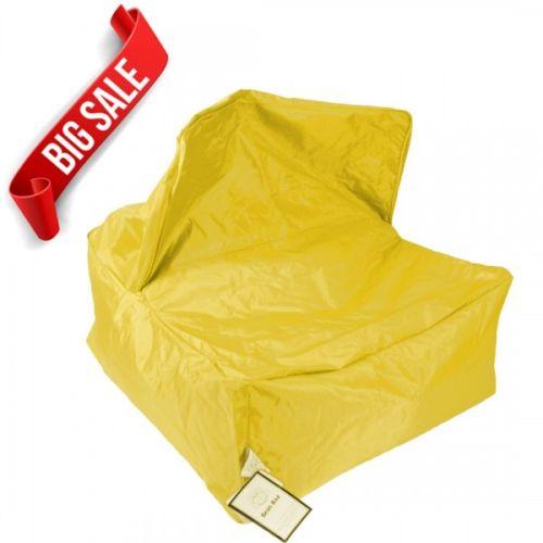 Yellow Transforming Bean Bag Chair