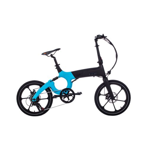 X80M Blue Commuter EBike (with throttle)
