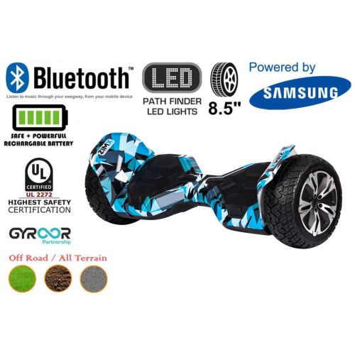 Crazy Blue G2 Pro Off Road Hoverboard Swegway Segway UL2272 Certified