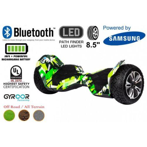 Hyper Green G2 Pro Off Road Hoverboard Swegway Segway UL2272 Certified