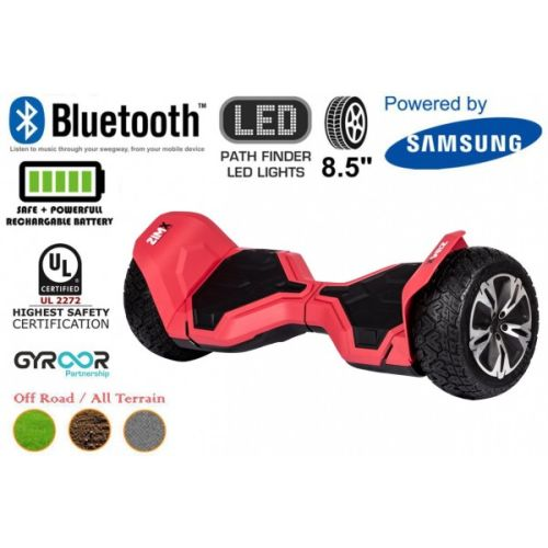 Red G2 Pro Off Road Hoverboard Swegway Segway UL2272 Certified