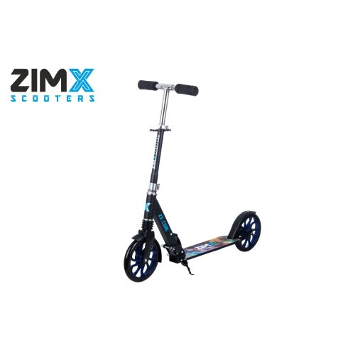 ZIMX ZX CORE Lighted Scooter - Blue