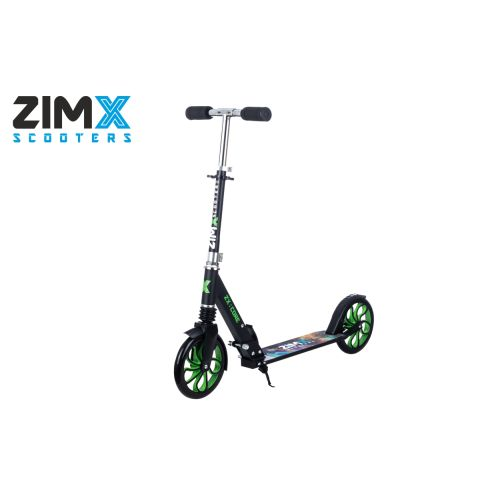 ZIMX ZX CORE Lighted Scooter - Green