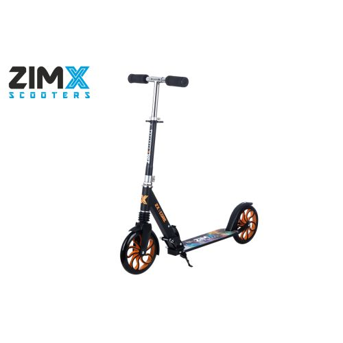 ZIMX ZX CORE Lighted Scooter - Orange