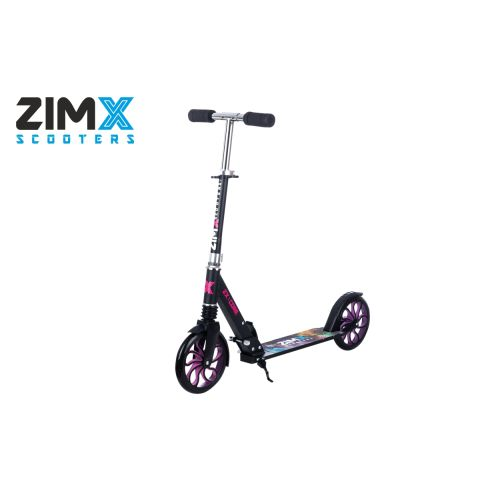ZIMX ZX CORE Lighted Scooter - Pink