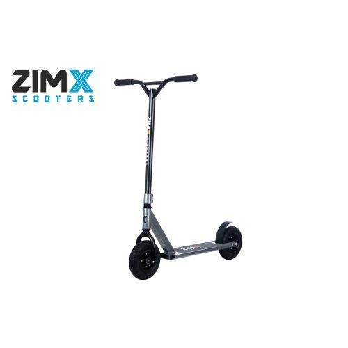 ZIMX ZX TRACK Dirt Scooter - Gun Metal Grey