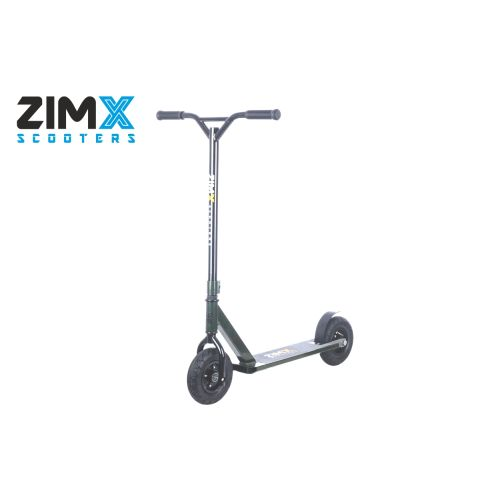 ZIMX ZX TRACK Dirt Scooter - Dark Nato Green